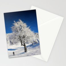 New Winter Day  Stationery Cards