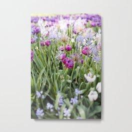 Spring Floral  //  The Botanical Series Metal Print