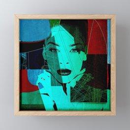 Pop Art 1 Framed Mini Art Print
