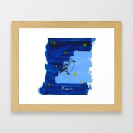 Born Framed Art Print