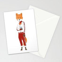 fleek fox Stationery Cards