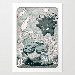 Final Round Art Print
