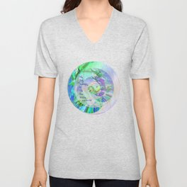 The Only Journey Is The One Within / Rilke Unisex V-Neck