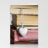 college Stationery Cards featuring College Romance by Colleen Farrell