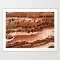 Natural spots Art Print