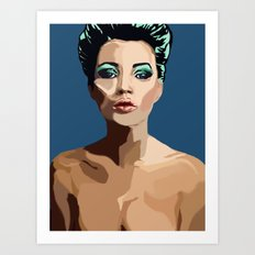 Modern Romantic Art Print