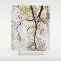 spiritual Shower Curtains featuring Spiritual Blessings by David Rothschild