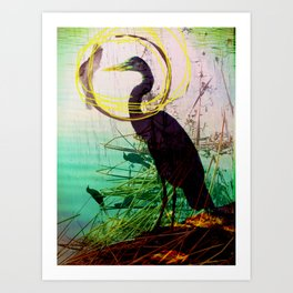 The crane series Art Print