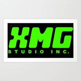 XMG Studio, Green Art Print