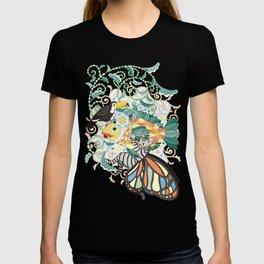Plant fish and Butterfly cat and Toco toucan (remake) T-shirt