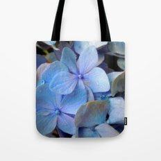 Hydrangea Happy Tote Bag