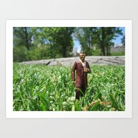 Lincoln On A Central Park Stroll, Part 2 Art Print
