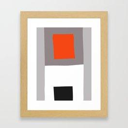 Mid Century Minimal 3 Framed Art Print