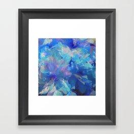 Sakura Blue Framed Art Print
