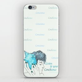CONCHience iPhone Skin