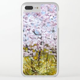 Blossoms Clear iPhone Case