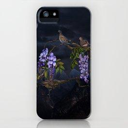 Doves In Moonlight iPhone Case