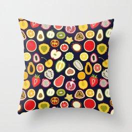 Fruity Cuties Throw Pillow