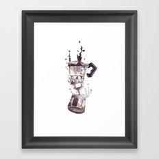 If all else fails, Coffee! Framed Art Print