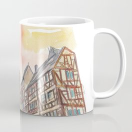 Strasbourg Alsace France Cathedral and Truss House Coffee Mug