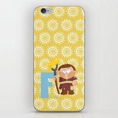 f for farmer iPhone & iPod Skin