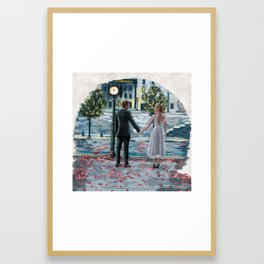 Here's to the Fools Who Dream Framed Art Print