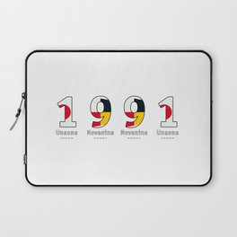 1991 - NAVY - My Year of Birth Laptop Sleeve