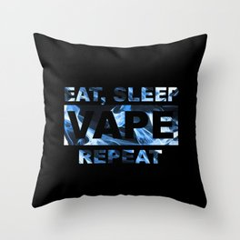 Vape On Throw Pillow