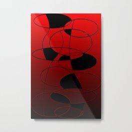 Abstract #52 Metal Print