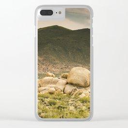 Big Rock 7412 Joshua Tree Clear iPhone Case
