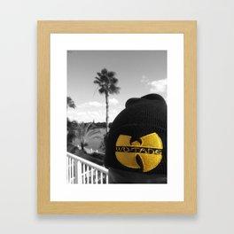 WU-TANG. Framed Art Print