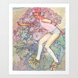 Zipade-doo-dah, let's zip on by Art Print