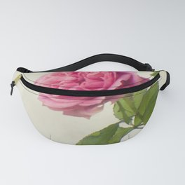 A single rose Fanny Pack