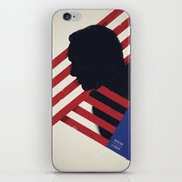 house of cards iPhone & iPod Skins featuring HOUSE of CARDS by Shujaat Syed