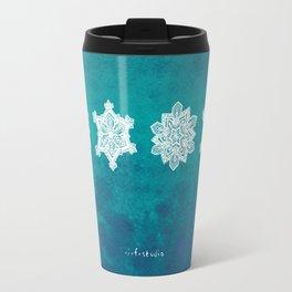 Snowflake I Travel Mug