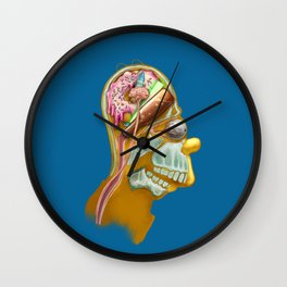 Homeric Thought Wall Clock