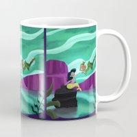 peter pan Mugs featuring Peter Pan by enosay