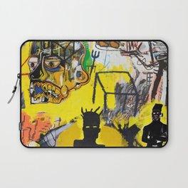 Collage Basquiat Laptop Sleeve