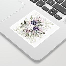 Purple Bouquet Sticker