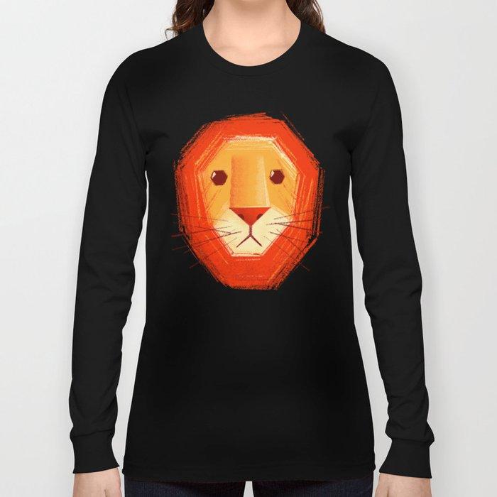 Sad lion Long Sleeve T-shirt