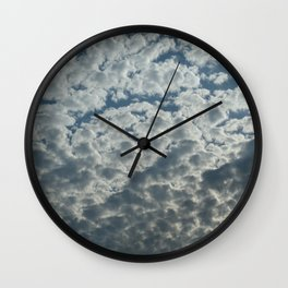 Cotton Cload Wall Clock