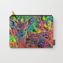 AnimalColor_Deer_001_by_JAMColors Carry-All Pouch