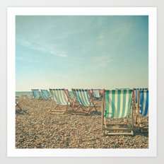 A Sea View Art Print