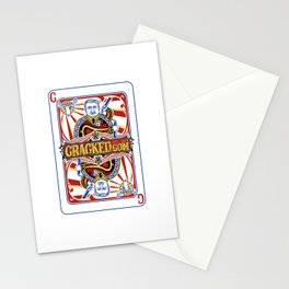 The Cracked Wild Card Stationery Cards