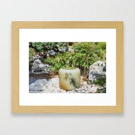 Japanese garden 6 Framed Art Print
