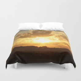Beautiful Sunset Duvet Cover
