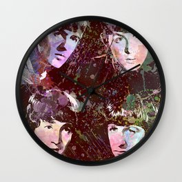 Paul, John, Ringo, George Wall Clock