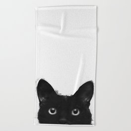 Are you awake yet? Beach Towel