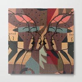 African Tapestry Metal Print