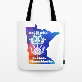 Minnesota: Dakota Homelands Tote Bag